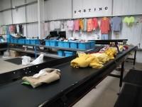 Niemcy praca bez znajomści języka w sortowni odzieży przy pakowaniu Berlin